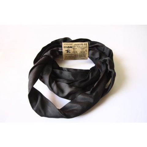 Black Round Slings - Gackflex Steelflex - Various Lengths Avail