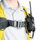 Python Safety™ Adjustable Radio Holster with Clip2Loop Coil and Micro D-Ring combo