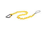Python Safety™ 0.8 - 1.2 m Hook2Loop Bungee Tether, 4.5 kg capacity