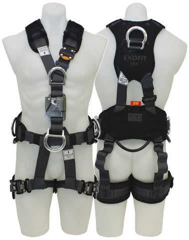 EXOFIT NEX™ FULL BODY HARNESSES - SUSPENSION HARNESS w CHEST ASCENDER