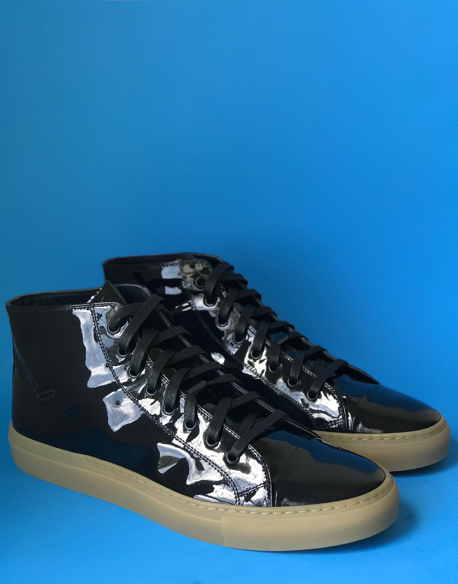 Palermo Navy Patent Leather