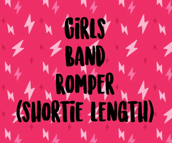 Mystery Band Shortie Romper (GIRLS)