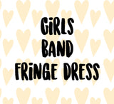 Mystery Band Fringe Dress