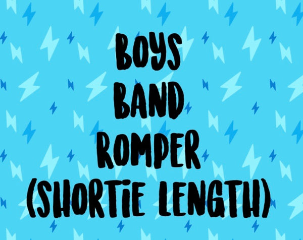 Mystery Band Shortie Romper (BOYS)