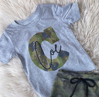 Personalized Camo TEE ONLY
