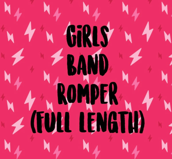 Mystery Band Full Length Romper (GIRLS)