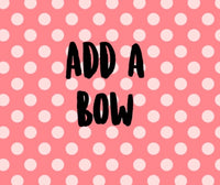 add a bow on CLIP