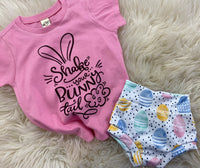Shake your bunny tail tee and bummie SET