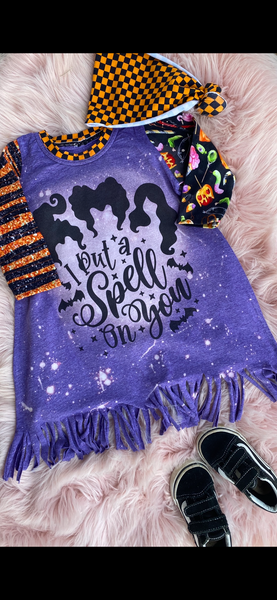 I put a spell on you fringe dress