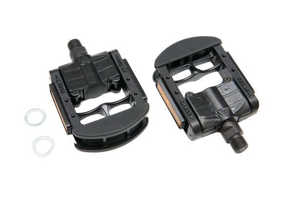"Wellgo FP-7 Folding Alloy Black 9/16"" Pedals"