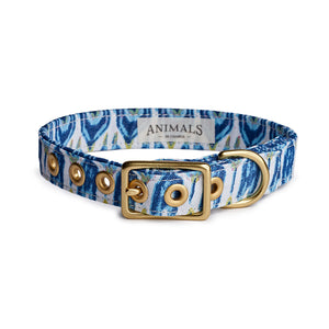 Coastal Blues + Brass Cafe Collar