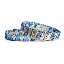 Load image into Gallery viewer, Coastal Blues + Brass Cafe Collar