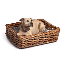Load image into Gallery viewer, Indigo Jaipur Woven Rattan Dog Bed