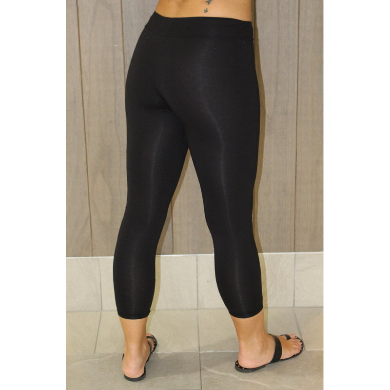 Leggings 3/4 length-Black,Pants, Latutti,- Style Collective