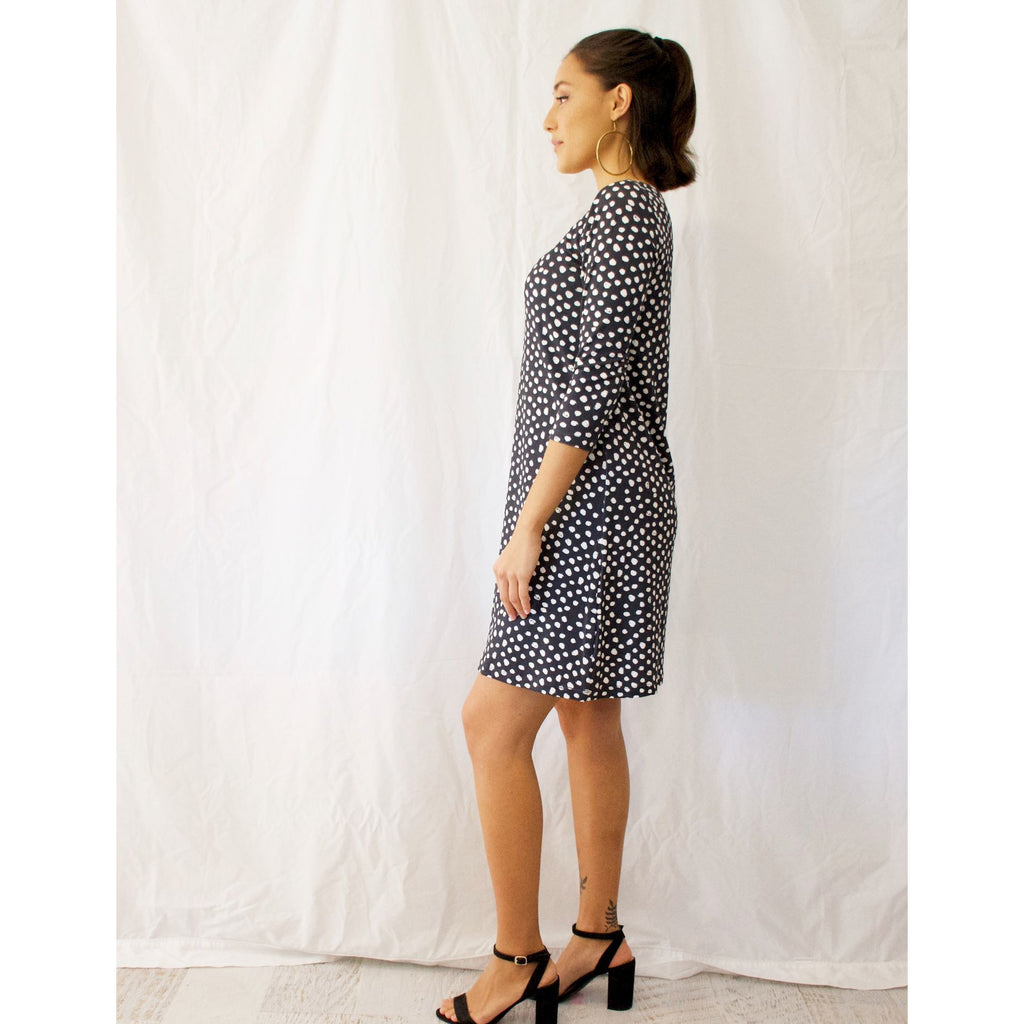 Aida Dress-Random Dots