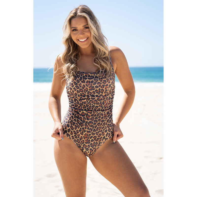 Maldives Swimsuit-Leopard Swim,Swimwear, LATUTTI SWIM- Style Collective