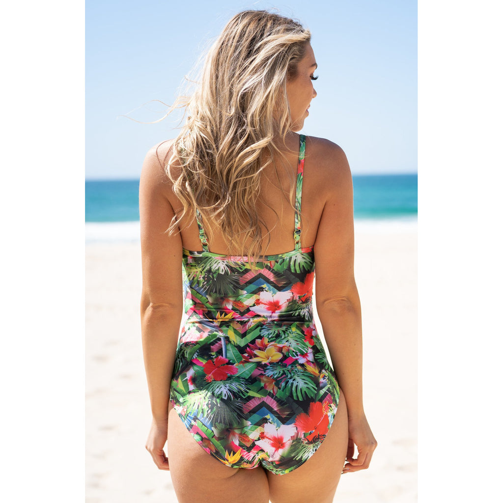 Maldives Swimsuit-Tropic Dream,Swimwear, LATUTTI SWIM- Style Collective