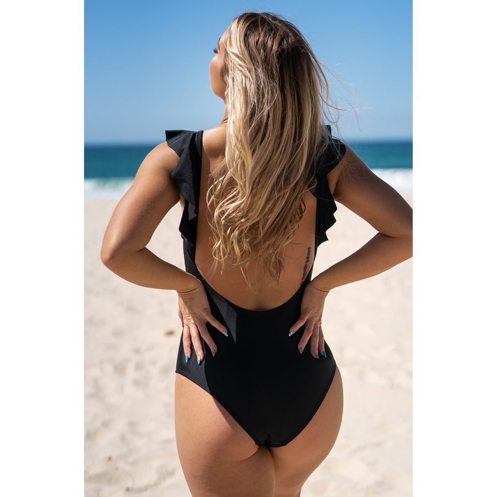 Fou Fou One Piece-Black,Swimwear, LATUTTI SWIM- Style Collective