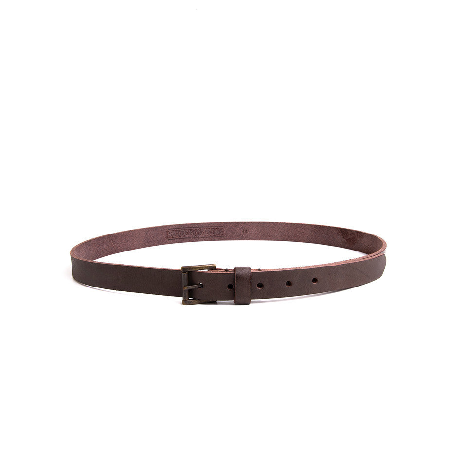 B25 Belt-Brown,Belts, Stitch & Hide- Style Collective