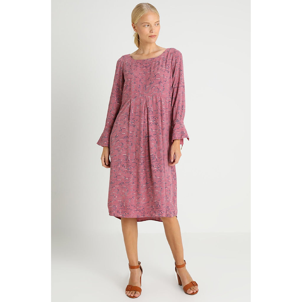 Structure Dress-Rosa Print,Dress, Noa Noa- Style Collective