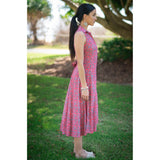 Marseille Dress-Red Gum,Dress, Latutti,- Style Collective