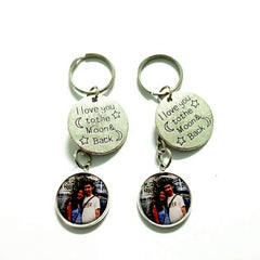 love you to the moon and back keychains singapore