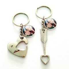custom couple keychains
