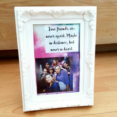 personalized message frame