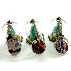custom christmas tree keychains