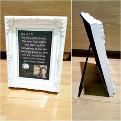 customized message frame