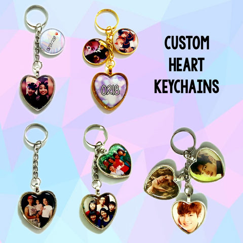 Keychains - Heart Charms