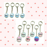 Keychains - Circle Charms