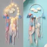 Dreamcatcher Clouds with Lights