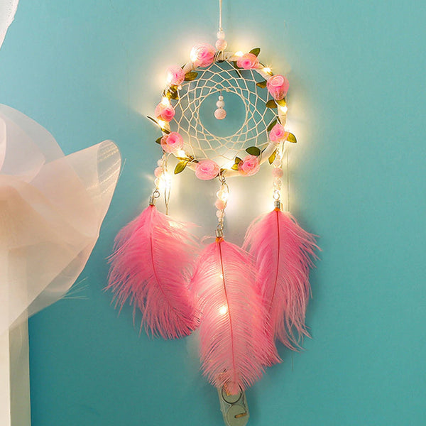 Dreamcatcher Rose with Lights