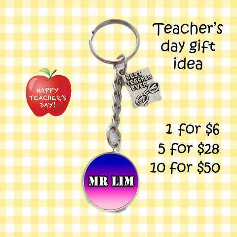 Teachers Day Keychains - Best Teacher Ever
