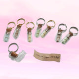 Mini Bottle Message Keychains
