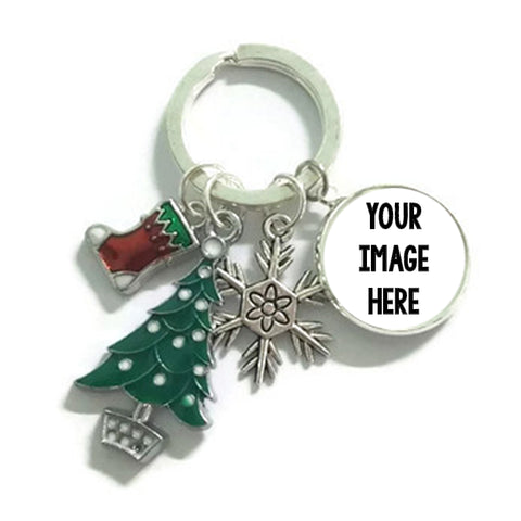 Christmas Charms Keychains