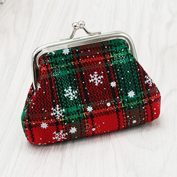 Christmas Snowflake Coin Pouches