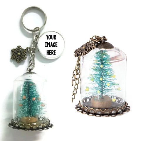 Christmas Tree Keychains