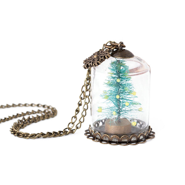 Christmas Tree Necklaces