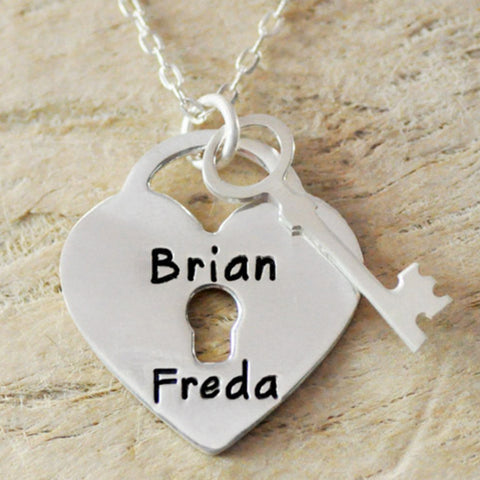 Name Couple Necklace