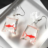 Fish in a Bag Earrings