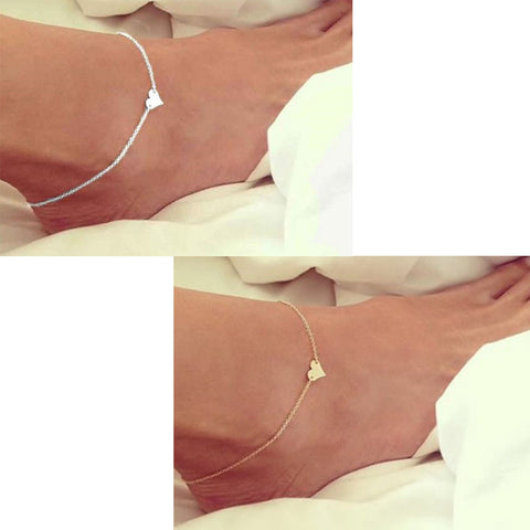 Heart Anklets