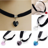 Heart Crystal Chokers