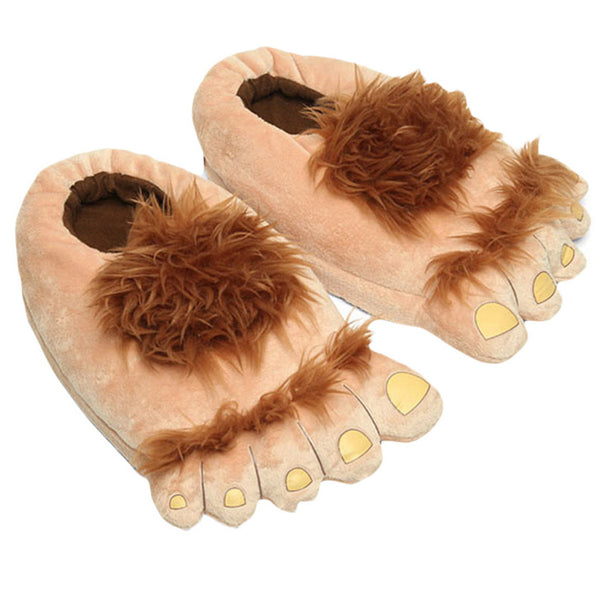 Hairy Hobbit Slippers
