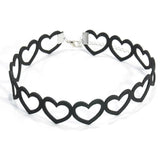 Hollow Heart Chokers