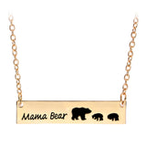 Mama Bear with Cubs Necklaces