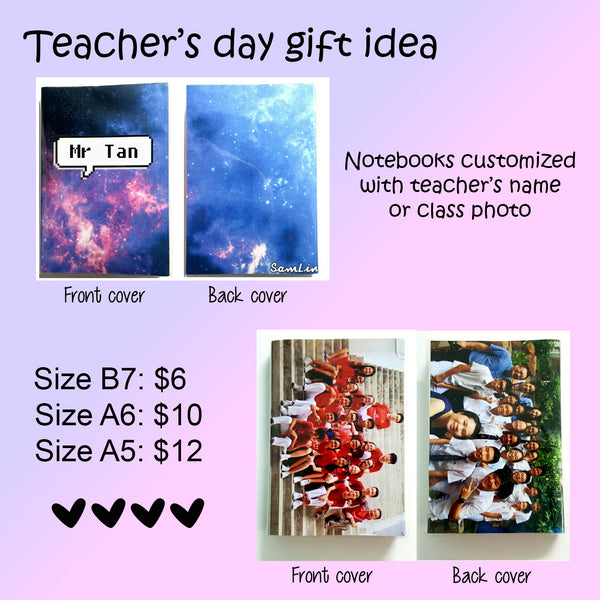 Teachers Day Notebooks