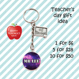 Teachers Day Keychains - Number 1 Teacher