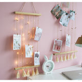 Photo String Tassel Decoration with Pegs